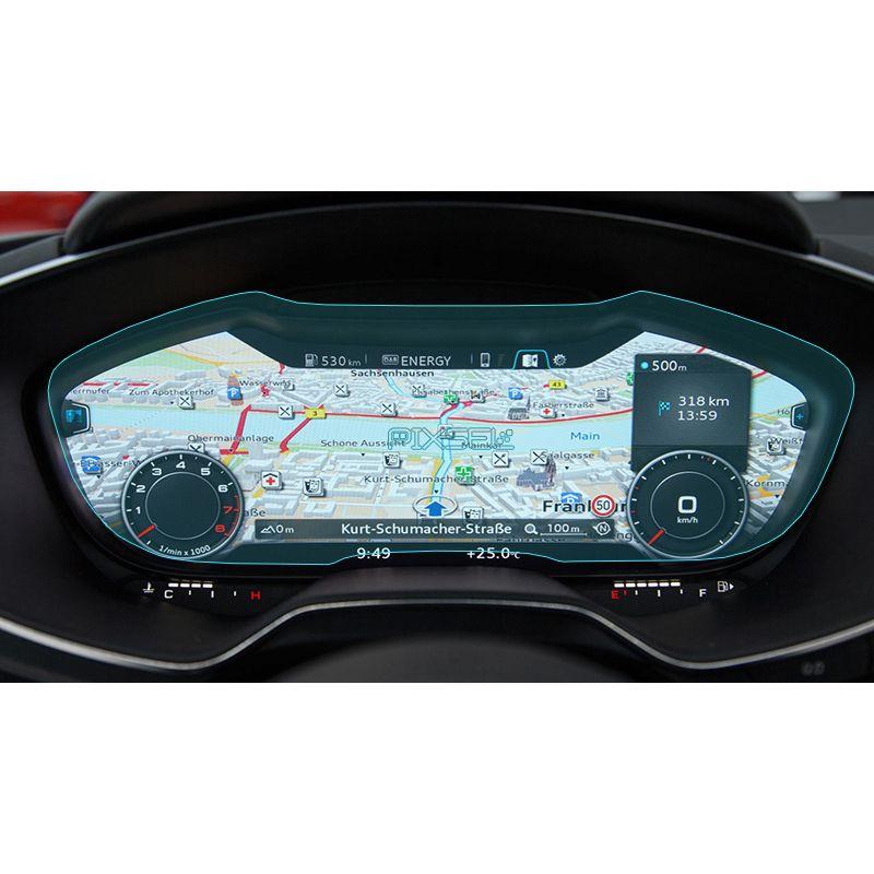 Защитное стекло на приборную панель Audi A3
