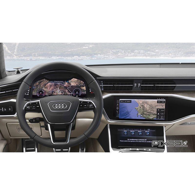Защитное стекло на монитор Audi A7