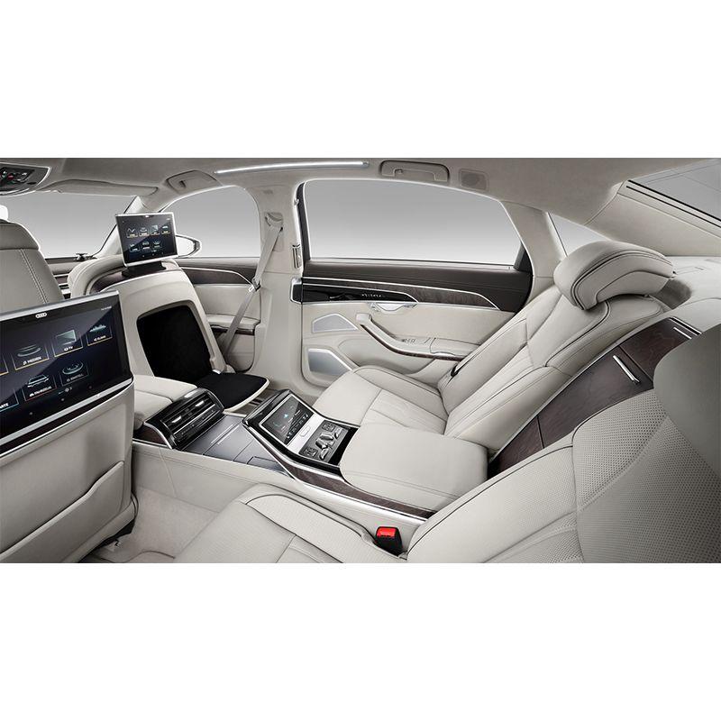 Защитное стекло на задний планшет для Audi A8