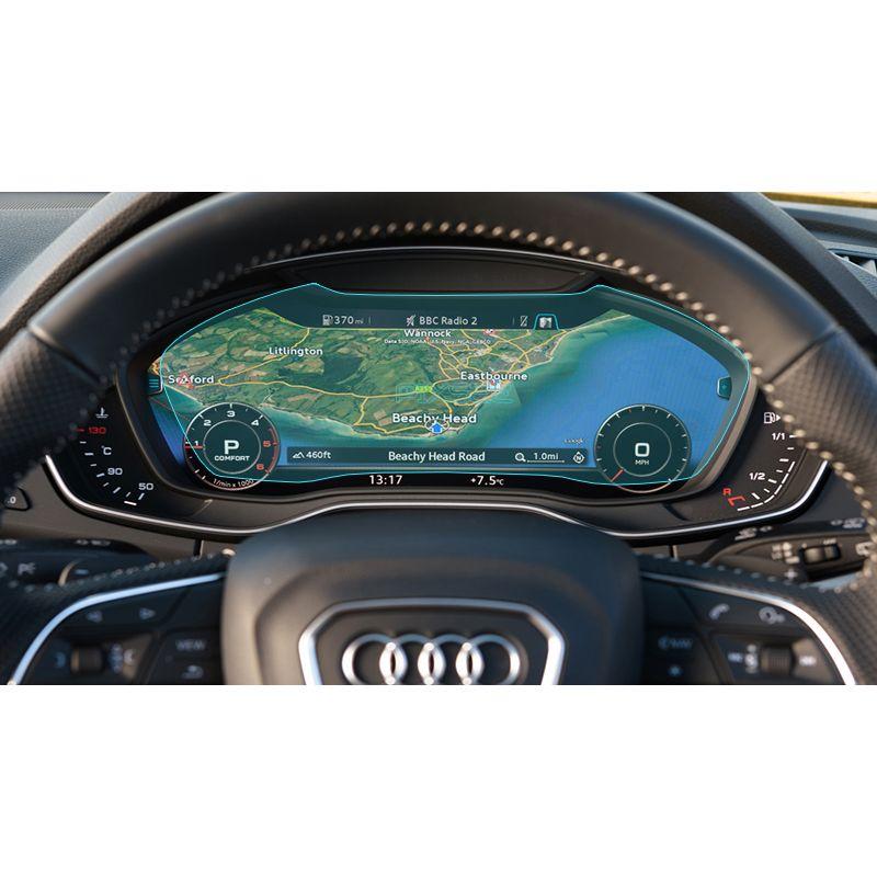 Защитное стекло на приборную панель Audi Q5 / SQ5