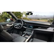 Защитное стекло на приборную панель Audi Q7 / SQ7 / RSQ7