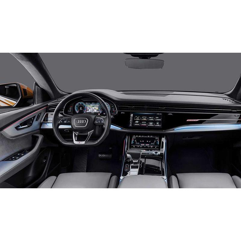 Защитное стекло на задний климат контроль Audi Q8 / SQ8 / RSQ8