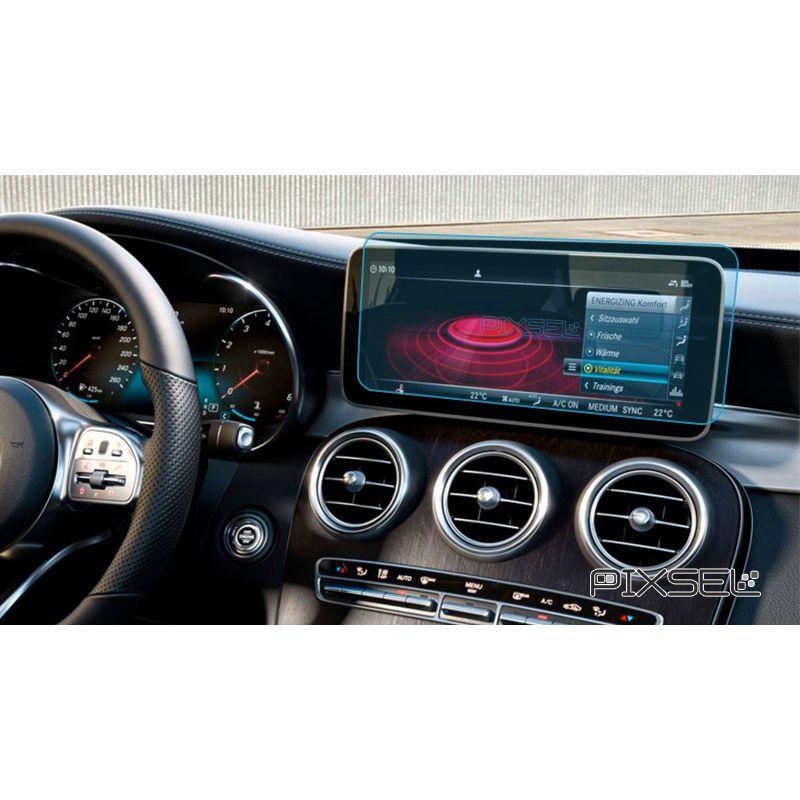 """Защитное стекло на монитор Mercedes C-Class 10.3"""""""