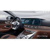 Защитное стекло на монитор Mercedes CLS-Class цельный