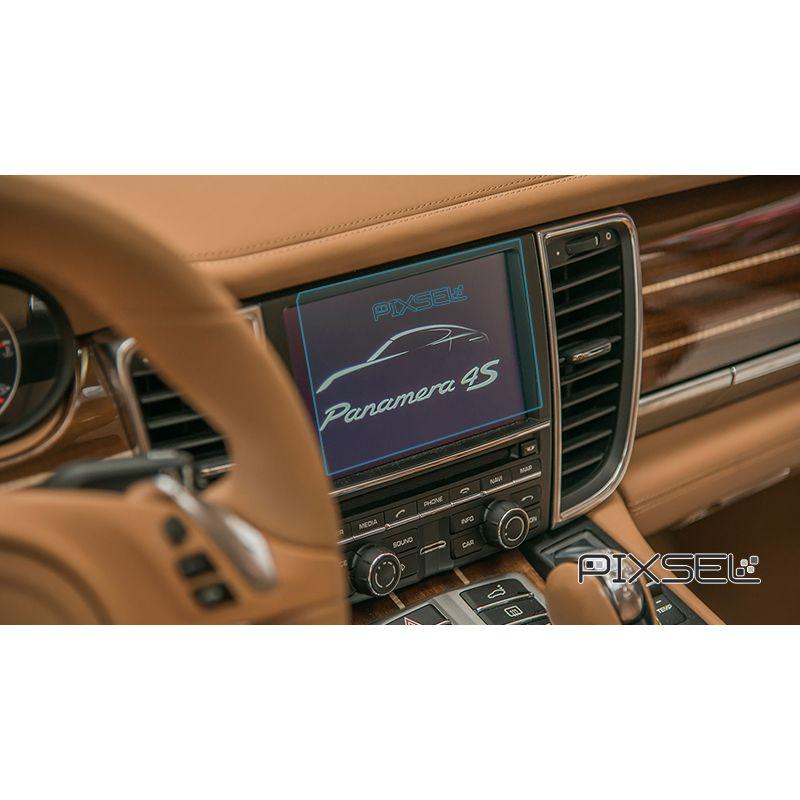 Защитное стекло на монитор Porsche Panamera