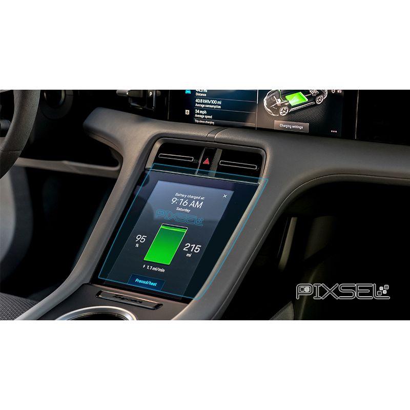 Защитное стекло на климат контроль Porsche Taycan