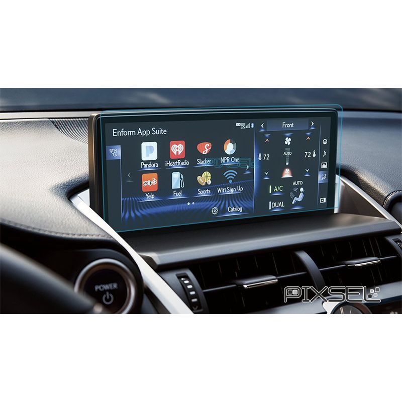 Защитное стекло на монитор Lexus NX Hybrid