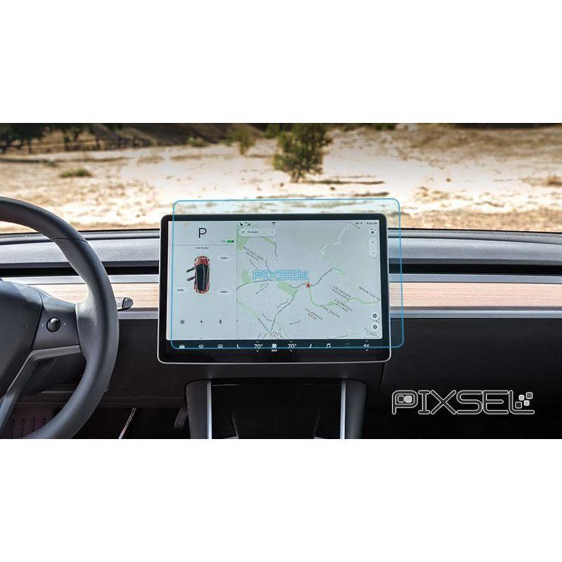 Защитное стекло на монитор Tesla Model 3