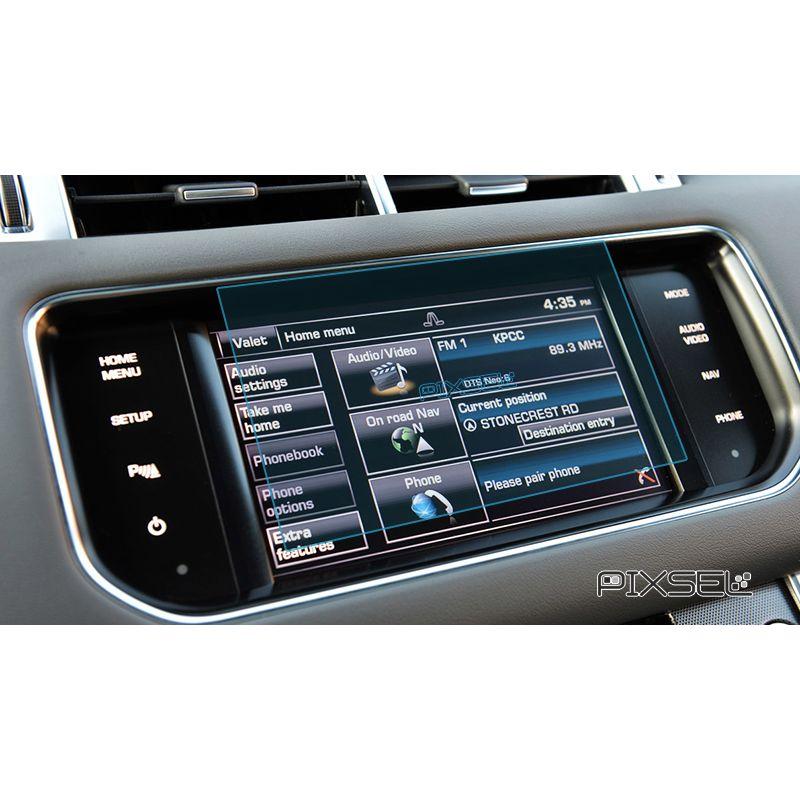 Защитное стекло на монитор Land Rover Sport