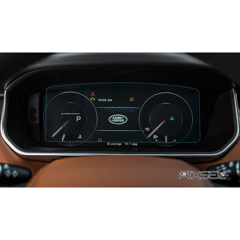 Защитное стекло на приборную панель Land Rover Velar