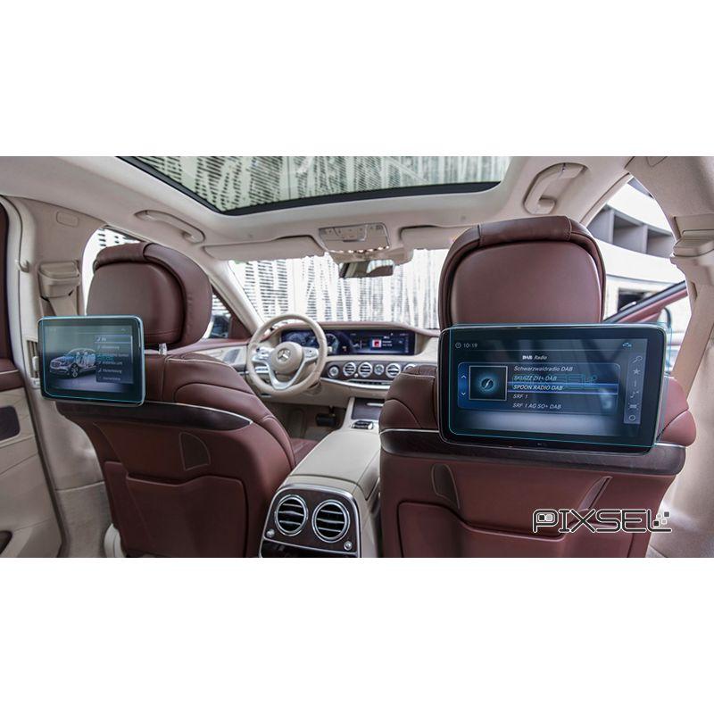 Защитное стекло на задний монитор Mercedes S-Class