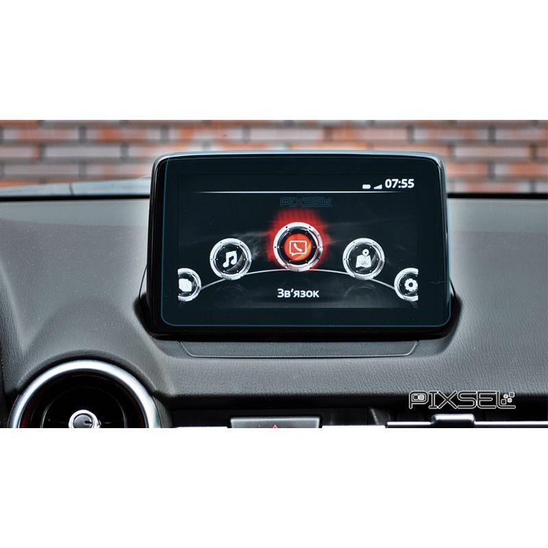 Защитное стекло на монитор Mazda 2