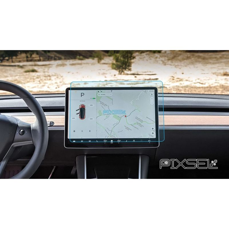 Защитное стекло на монитор Tesla Model Y