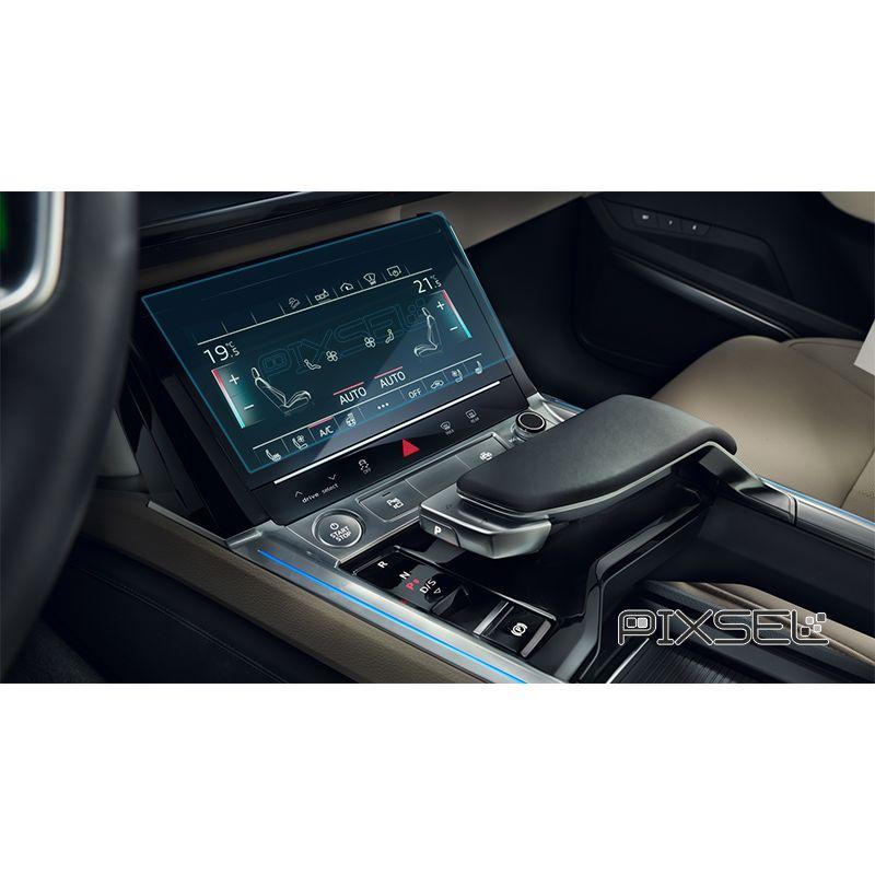 Защитное стекло на климат контроль Audi e-tron
