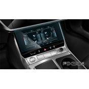 Защитное стекло на климат контроль Audi Q7 / SQ7 / RSQ7