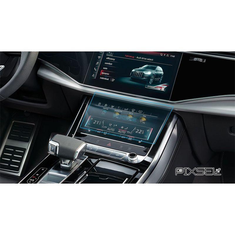 Защитное стекло на климат контроль Audi Q8 / SQ8 / RSQ8