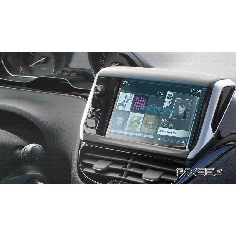 Защитное стекло на монитор Peugeot 208