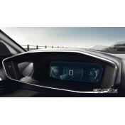 Защитное стекло на приборную панель Peugeot 208