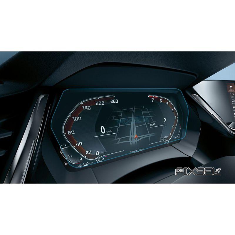 Защитное стекло на приборную панель BMW 1