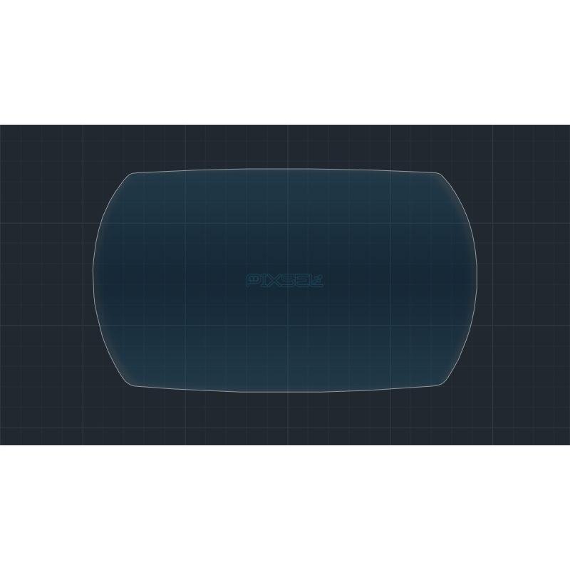 Защитное стекло на приборную панель DS