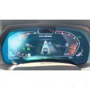 Защитное стекло на приборную панель BMW 4 (с камерой)