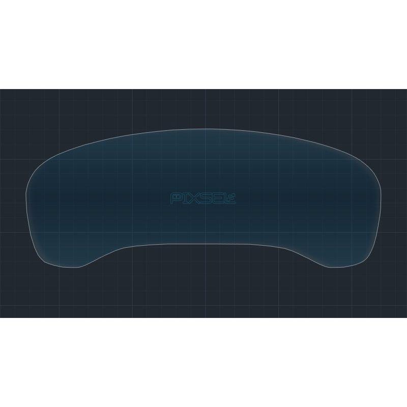 Защитное стекло на приборную панель BMW X3