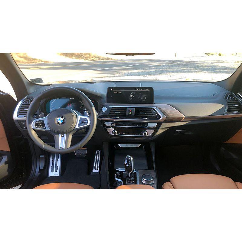 Защитное стекло на приборную панель для BMW X4