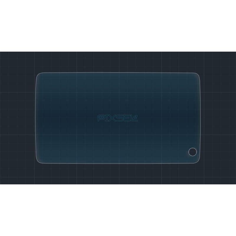 Защитное стекло на монитор BMW X5 задний