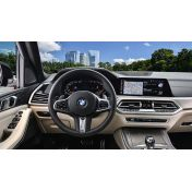 Защитное стекло на приборную панель BMW X5 / X5M с камерой