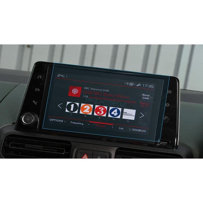 Защитное стекло на монитор Citroen Berlingo