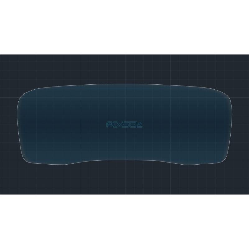 Защитное стекло на приборную панель Hyundai Santa Fe