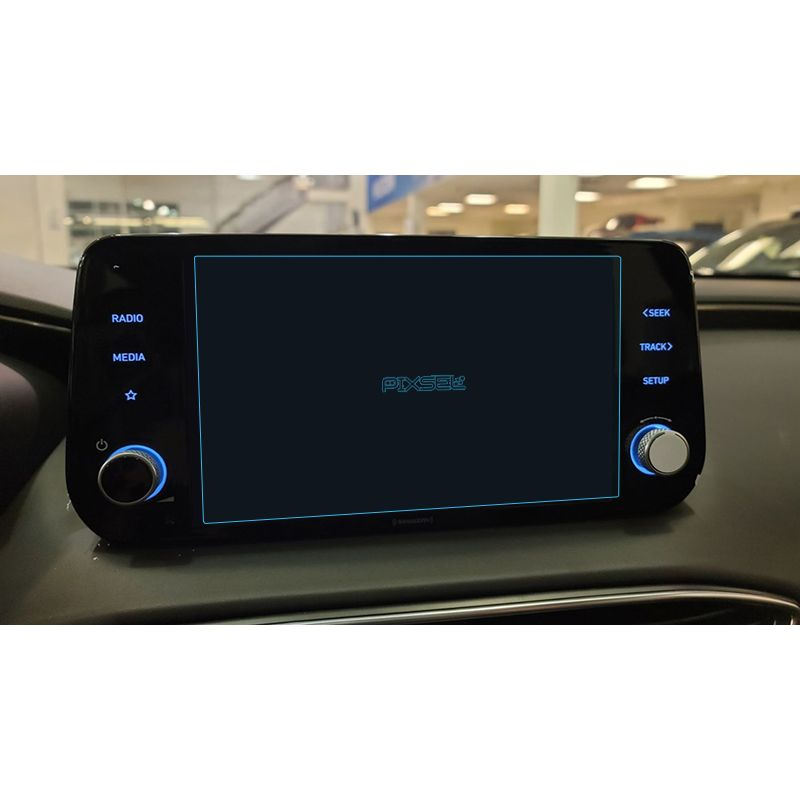 "Защитное стекло на монитор 8"" Hyundai Santa Fe"