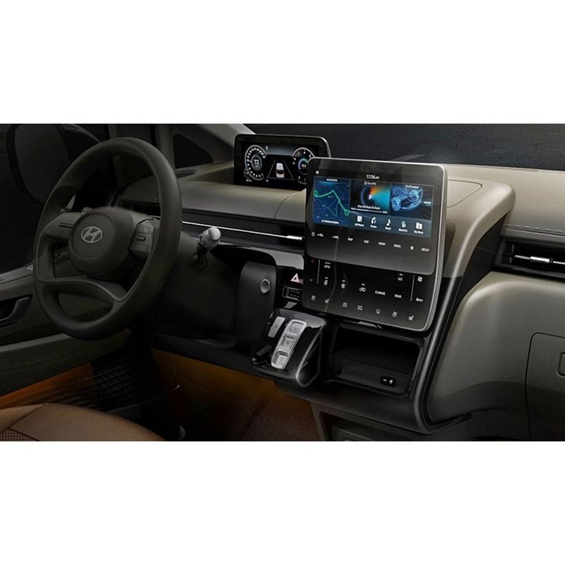 Защитное стекло на климат контроль для Hyundai Staria
