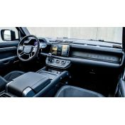 Защитное стекло на монитор (большой) для Land Rover Defender