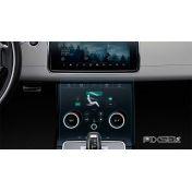 Защитное стекло на климат контроль Land Rover Velar