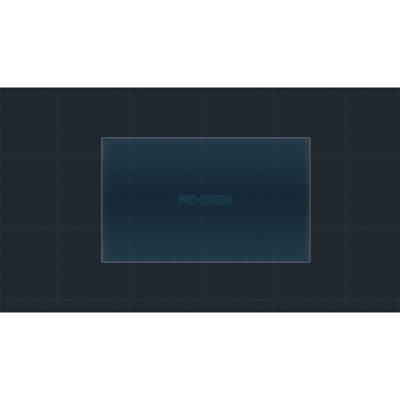 """Защитное стекло на монитор Mercedes C-Class 7"""""""