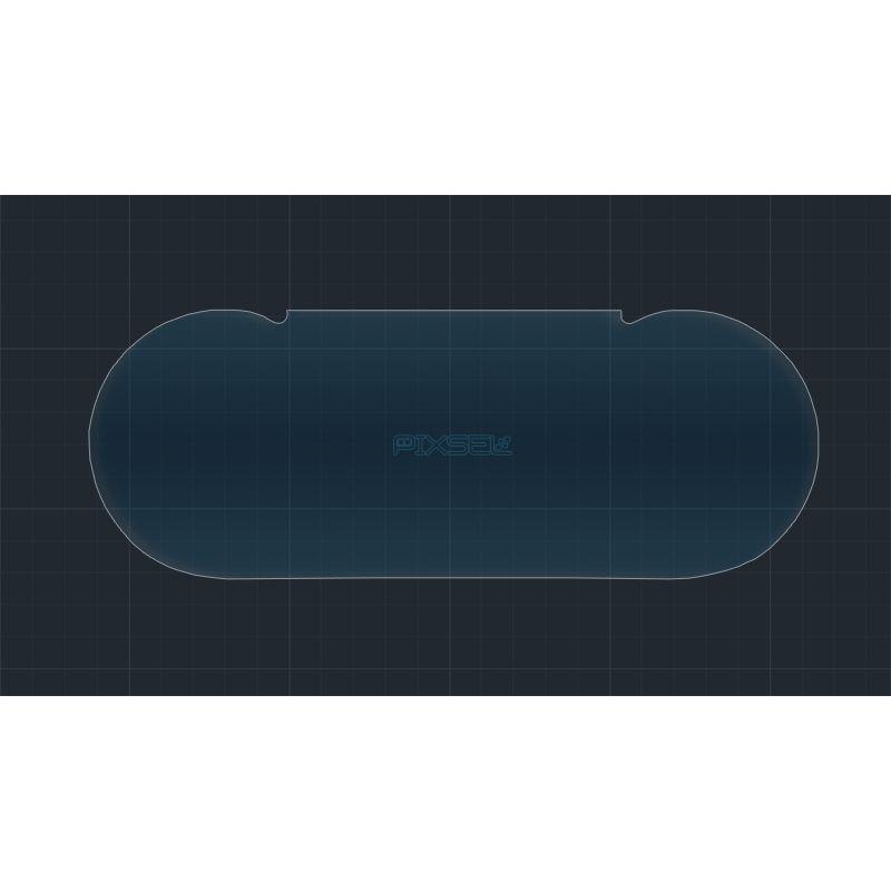 Защитное стекло на приборную панель Mercedes C-class