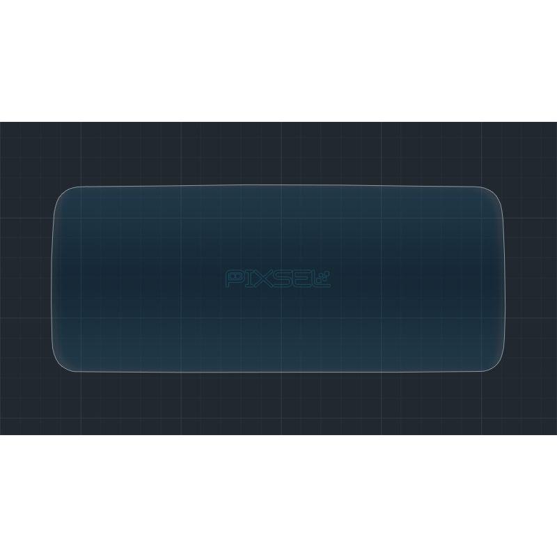 Защитное стекло на приборную панель для Mercedes C-Class