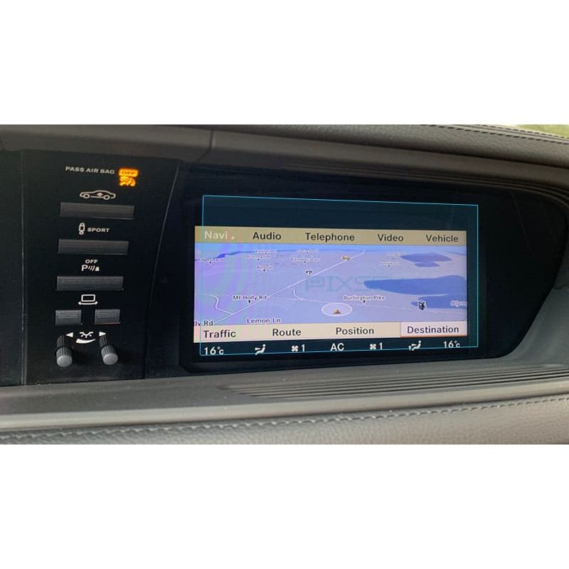 Защитное стекло на монитор Mercedes CL-Class