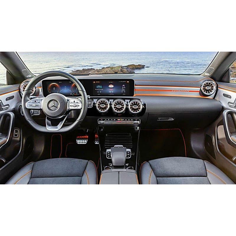 Защитное стекло на монитор Mercedes CLA-Class цельный