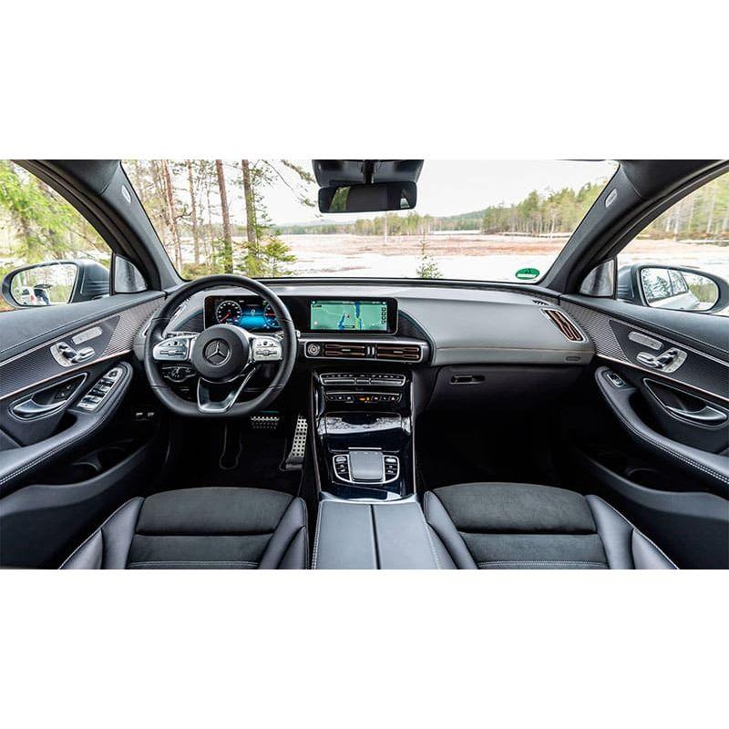 Защитное стекло на монитор Mercedes EQC-Class цельный