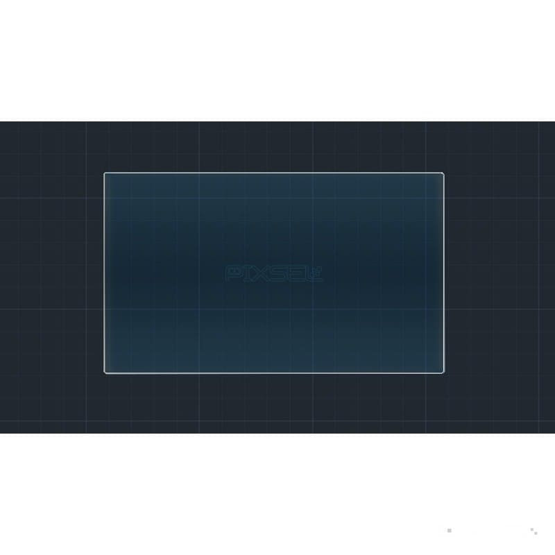 """Защитное стекло на монитор Mercedes ML-class 7"""""""