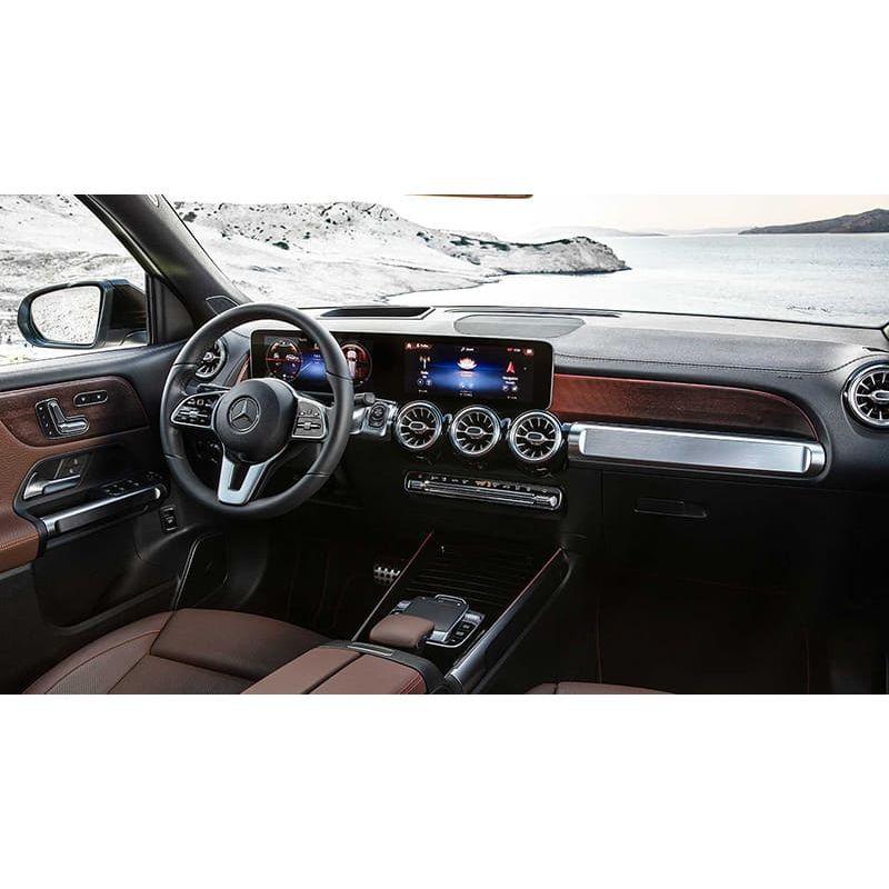 Защитное стекло на монитор Mercedes GLB-Class цельный