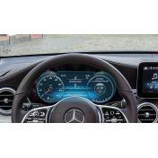 Защитное стекло на приборную панель Mercedes GLC-Class