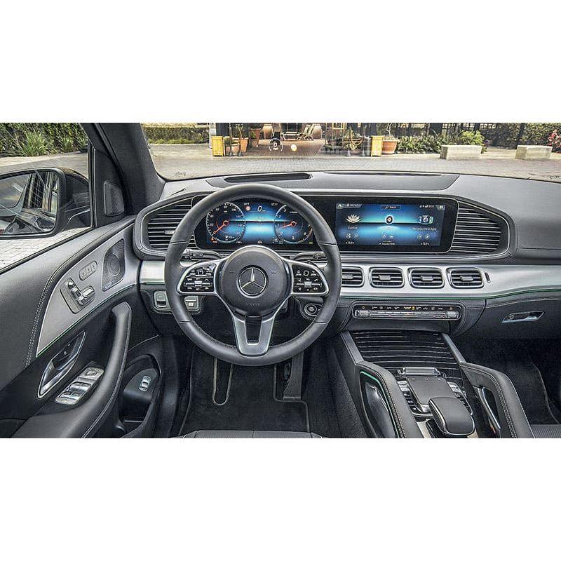 Защитное стекло на монитор Mercedes GLE-Class цельный