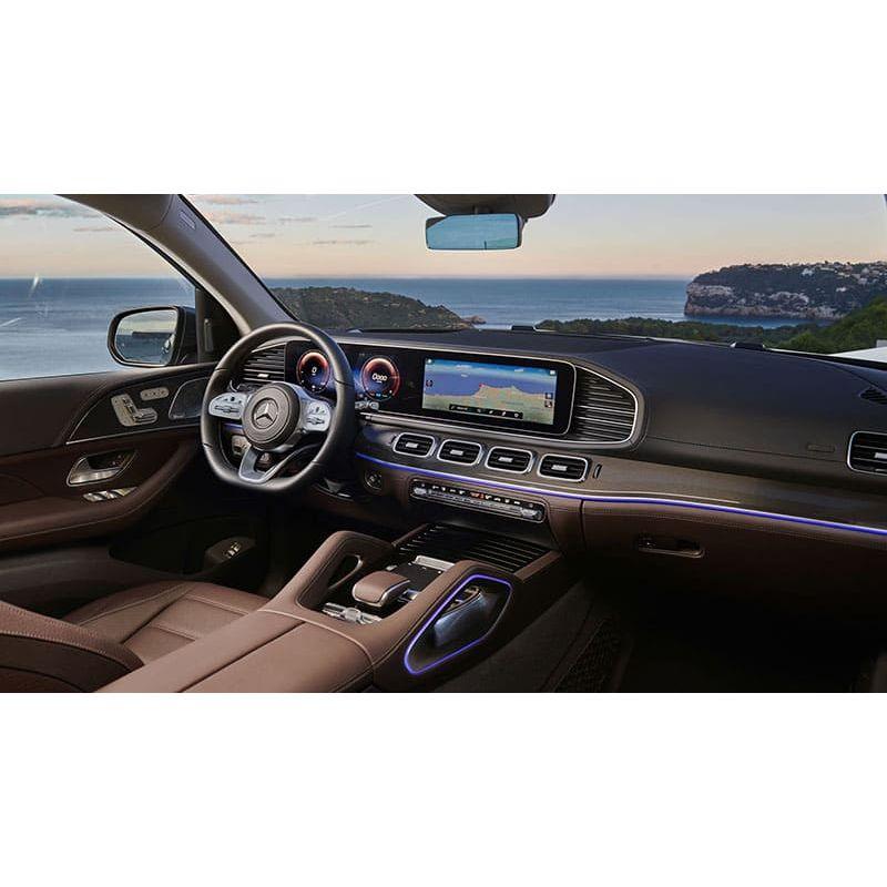 Защитное стекло на монитор Mercedes GLS-Class цельный