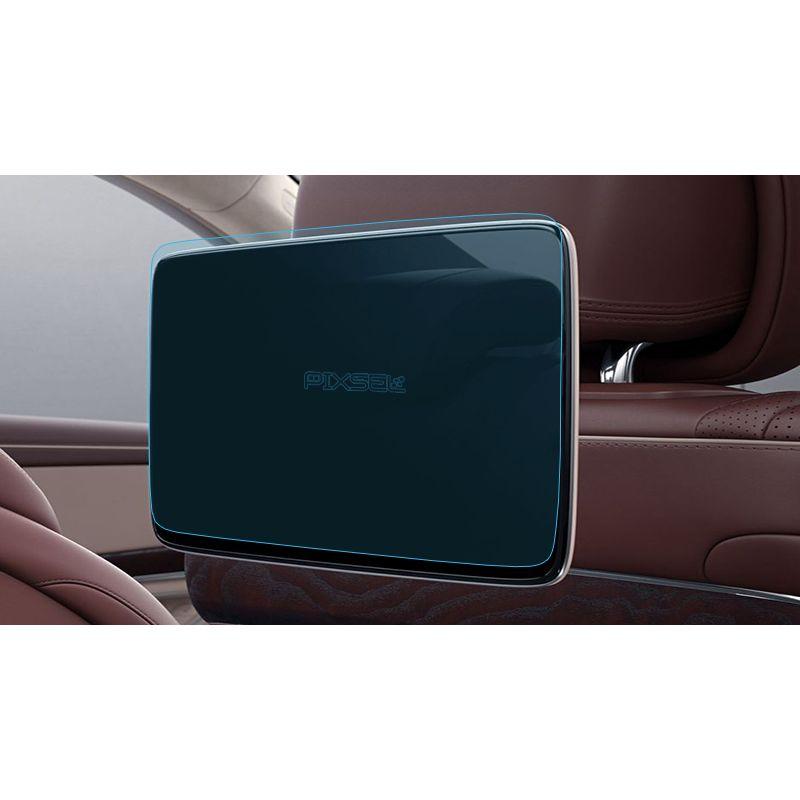 Защитное стекло на монитор в подголовниках Mercedes S-class