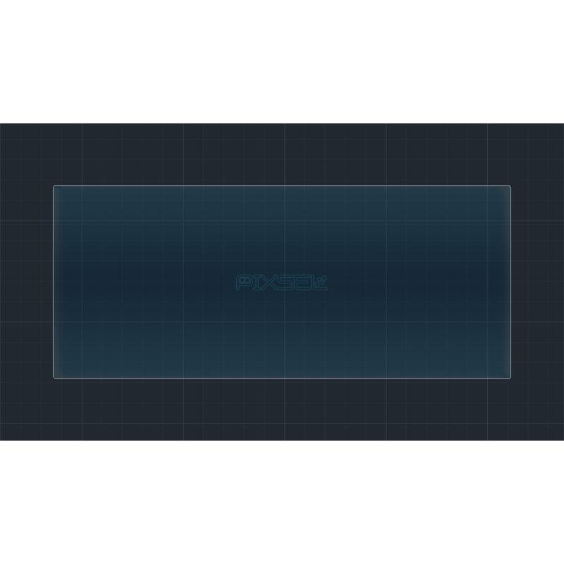 Защитное стекло на приборную панель для NIO ES6