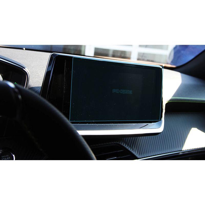"""Защитное стекло на монитор 7"""" Peugeot 2008"""