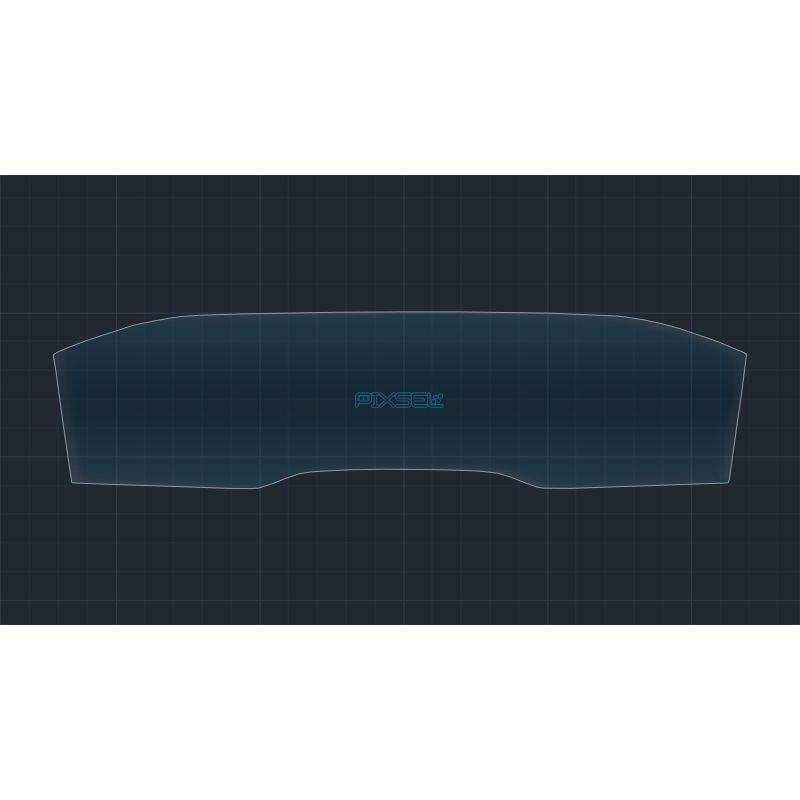 Защитное стекло на приборную панель Peugeot 508